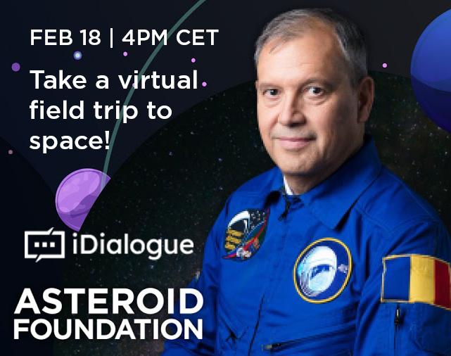 iDialogue + Asteroid Foundation graphic